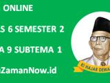 Soal Kelas 6 Tema 9 Subtema 1 Tugas Online