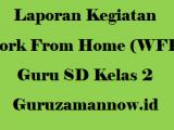 Laporan Kegiatan Work From Home (WFH) Guru SD Kelas 2