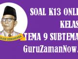 Soal Kelas 4 Tema 9 Subtema 3 Tugas Online
